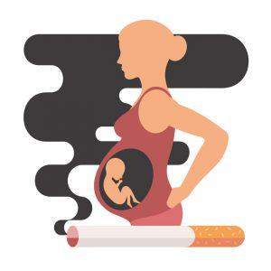 Hamilelikte İçilen Sigara Bebeğin Karaciğerine Zarar Veriyor!
