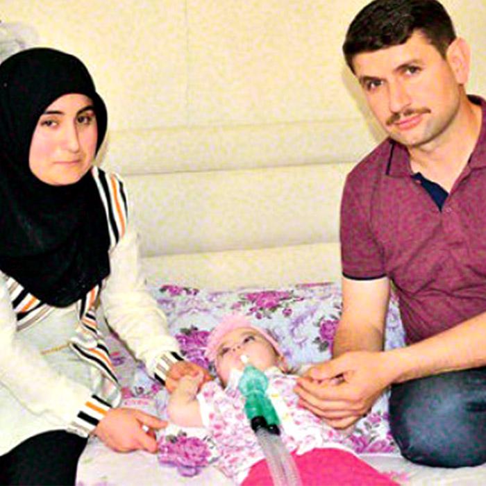 SMA Hastası Zeynep Fatma'ya Devletten 3 Milyar Liralık Destek