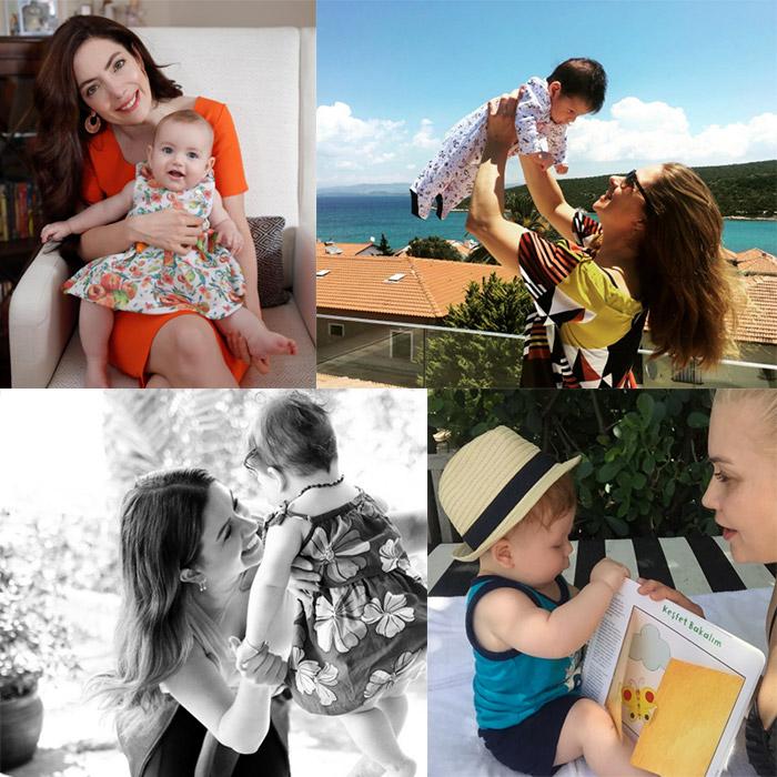 Ünlü Anneler ve Bebekleri İnstagramda / 2- 9 Haziran