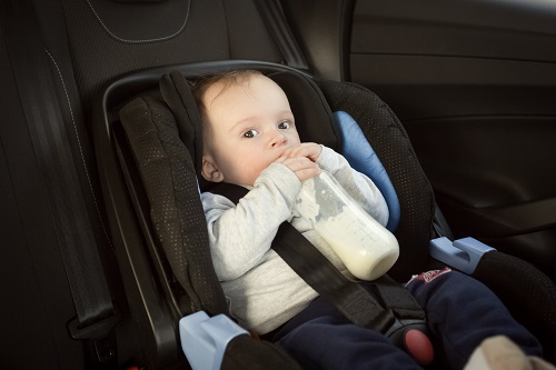 bebeklerle araba yolculuğu