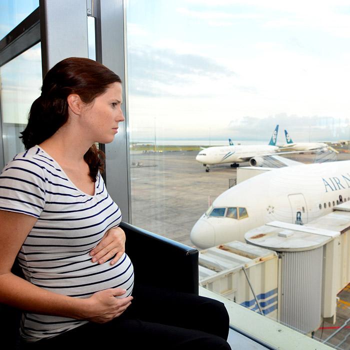 Gebelikte Uçak Yolculuğu Sakıncalı mı?