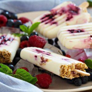 Gebelere Özel Buz Gibi Bir Tarif: Karadutlu Dondurma