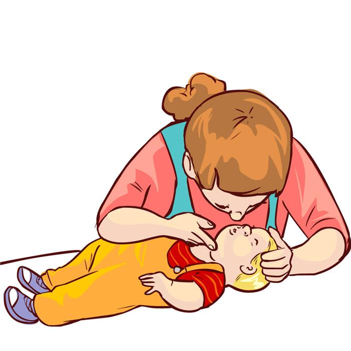 Solunum Yolu Tıkanıklığında Bebeklere Uygulanacak Olan İlk Yardım