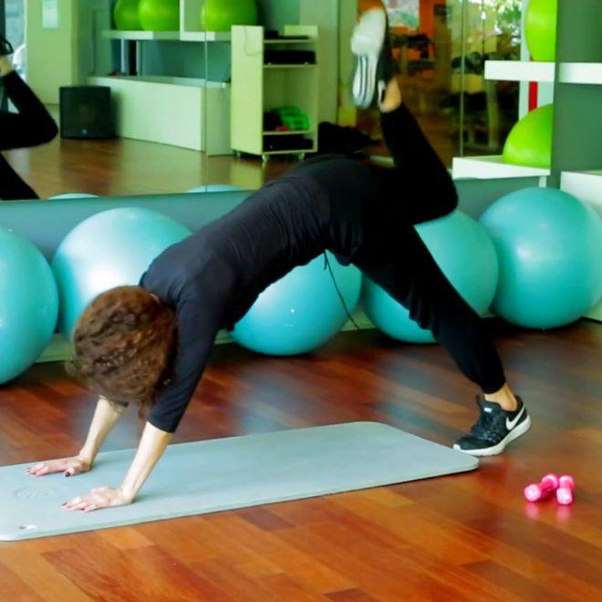 Aslıhan Kıratlı İle Alt Vücut Egzersizleri