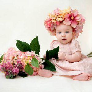 Kız Bebeklere Konabilecek Değişik Çiçek İsimleri ve Anlamları