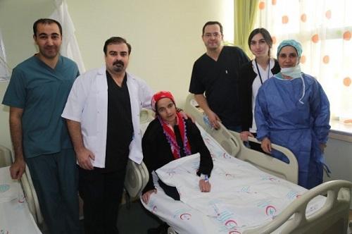 hamile kadın mide ameliyatı edildi 2