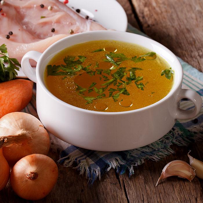 Grip Olan Gebelere Özel Nefis Tavuk Suyuna Çorba Tarifi